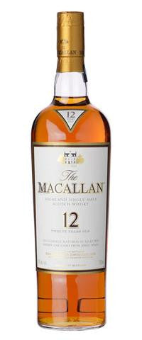 Single Malt Whiskey - Macallan 12Yo
