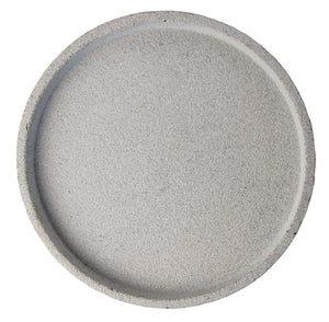 ROUND CONCRETE TRAY LARGE