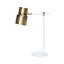 ATTICUS TABLE LAMP WHITE