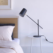 AUSTIN TABLE LAMP CHARCOAL