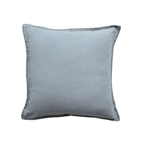 GREY BLANKET STITCH CUSHION