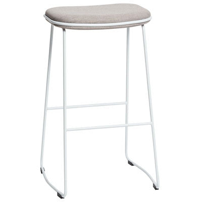 ALTO ICON STOOL - WHITE/OATMEAL