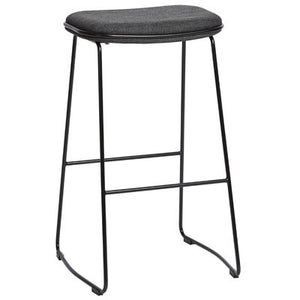ALTO ICON STOOL - BLACK/CHARCOAL