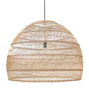 WICKER PENDANT LARGE