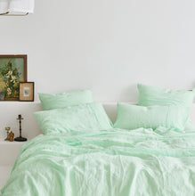 KIP & CO - SPRAY MINT LINEN EURO