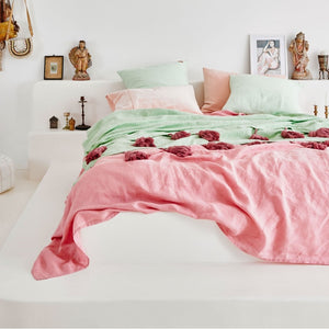 KIP & CO - PEACH SKIN VELVET PILLOWCASE SET