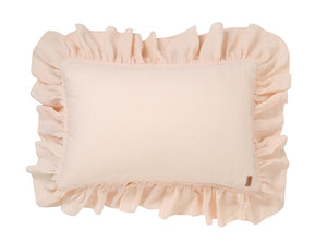 KIP & CO - VANILLA CREAM LINEN FRILL PILLOWCASE