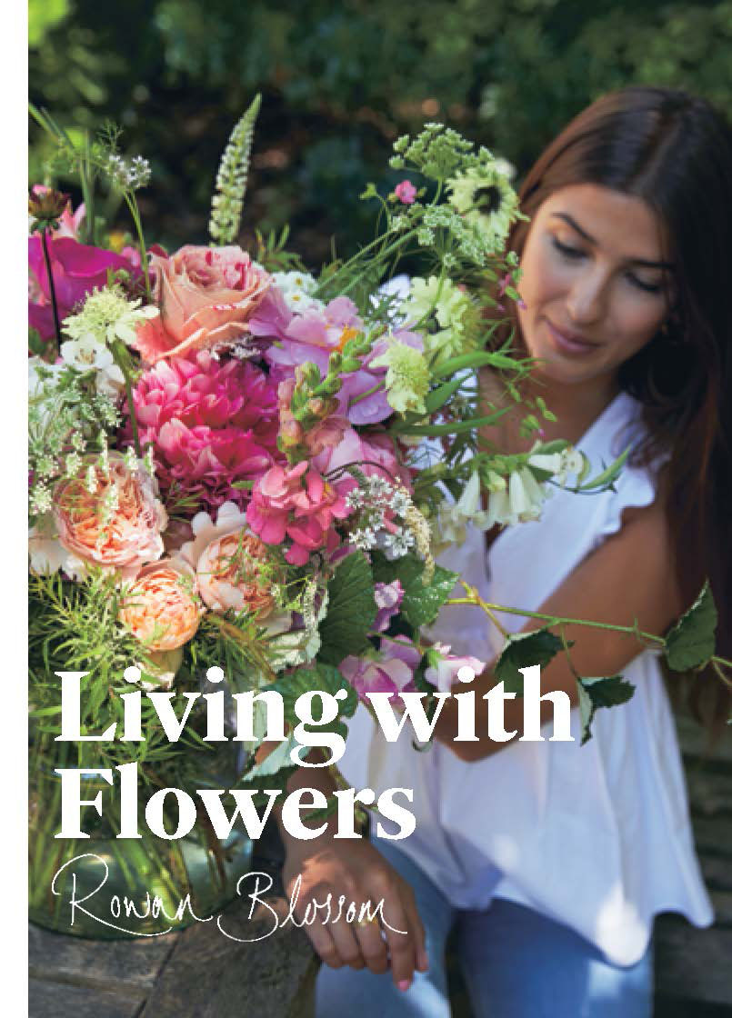 LIVING WITH FLOWERS BOOK