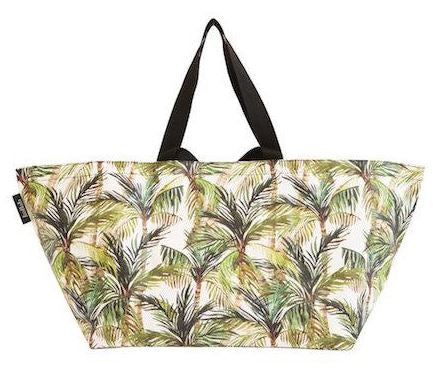 KOLLAB BEACH BAG -GREEN PALM
