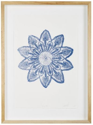 BLUE STAR FINE ART PRINT