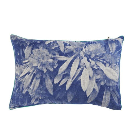 RHODODENDRUM BLUE CUSHION