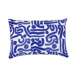 OCEAN YVES KLEIN BLUE CUSHION