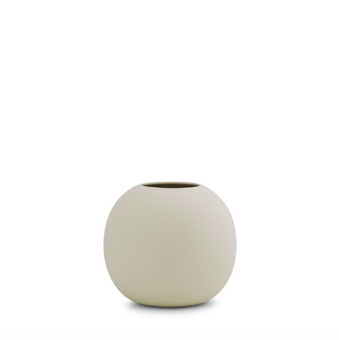 CLOUD VASE BUBBLE - CHALK WHITE - MEDIUM