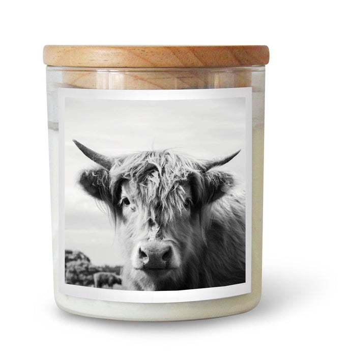 THE HIGHLAND COW SOY CANDLE
