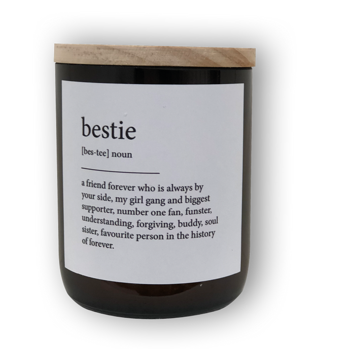 BESTIE DICTIONARY MEANING SOY CANDLE