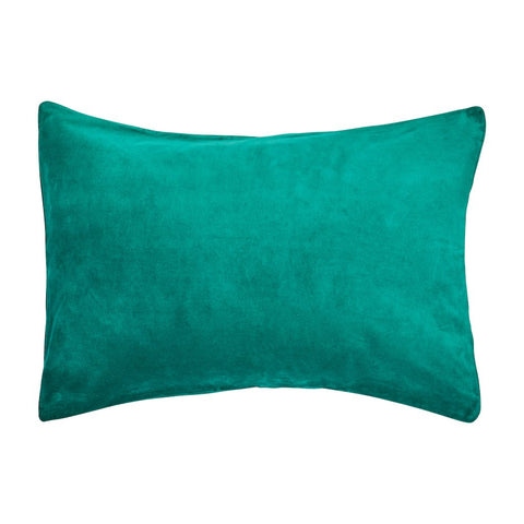 CANYON VELVET PILLOWCASE -OPAL