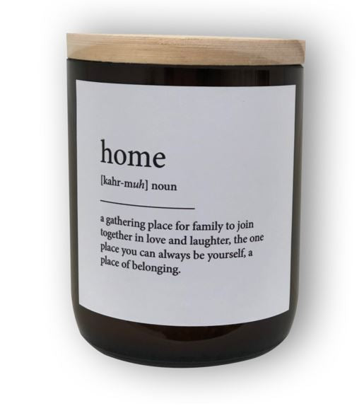 HOME DICTIONARY MEANING SOY CANDLE
