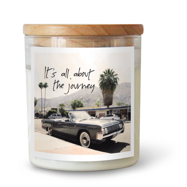 ITS ALL ABOUT THE JOURNEY SOY CANDLE