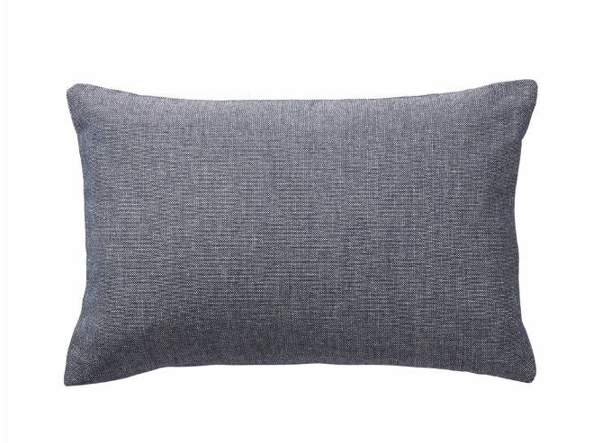 DENIM WOVEN CUSHION RECTANGLE
