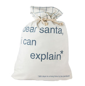 DOWN TO THE WOODS - SANTA SACK