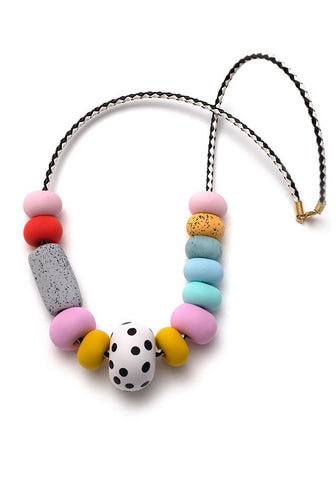 EMILY GREEN FELICITY BIG BEAD NECKLACE
