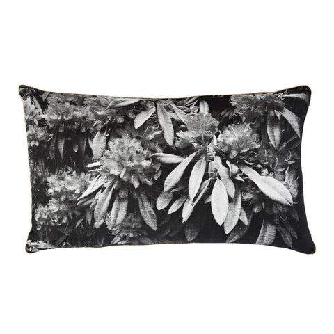 RHODODENDRON BLACK CUSHION