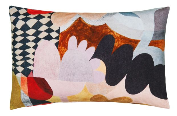 CASTLE - HARLEQUIN VELVET PILLOWCASE