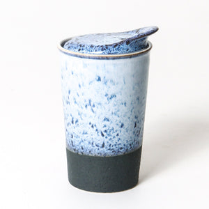 ITS A KEEPER CERAMIC CUP TALL - SNOW TOP