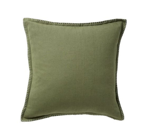 JUNGLE BLANKET STITCH CUSHION