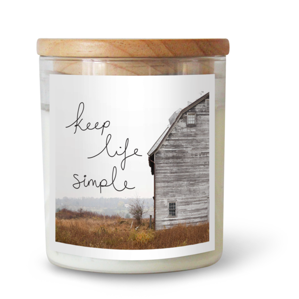 KEEP LIFE SIMPLE SOY CANDLE