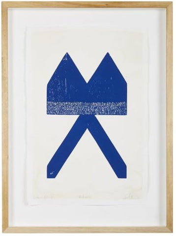 MODERNIST WOODBLOCK PRINT