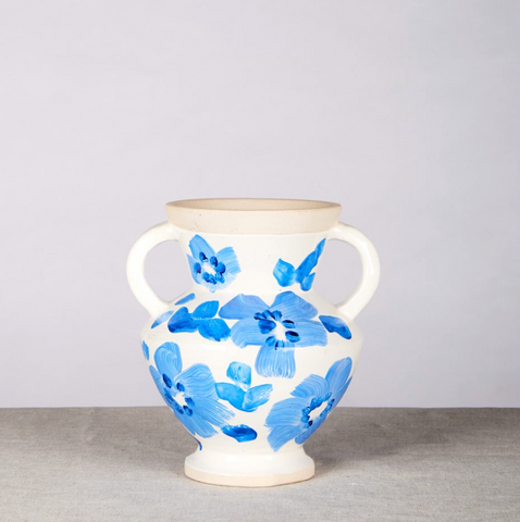 SMALL VASE - PANSY BLUE