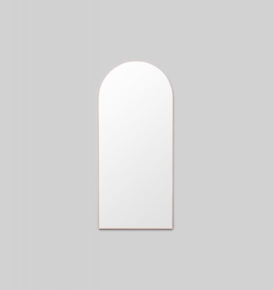 BJORN ARCH FLOOR MIRROR - POWDER