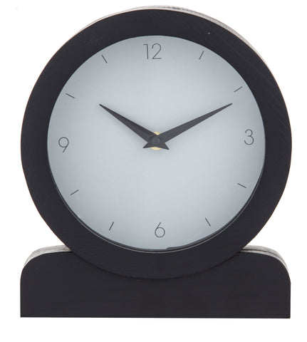 PRESLEY MANTEL CLOCK - BLACK