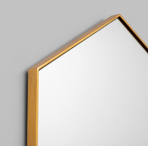 PRESTON MIRROR - BRASS