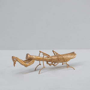 PRAYING MANTIS -GOLD