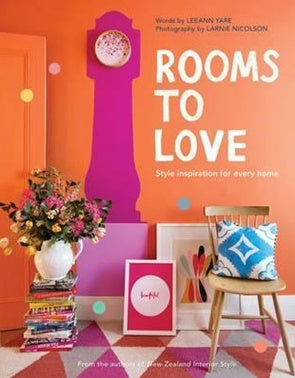 ROOMS TO LOVE BOOK
