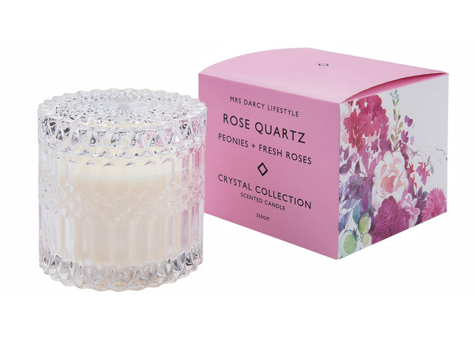 MRS DARCY CANDLE 350GM- PEONIES & FRESH ROSES