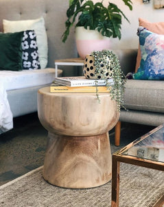 TYLER TIMBER EGG STOOL