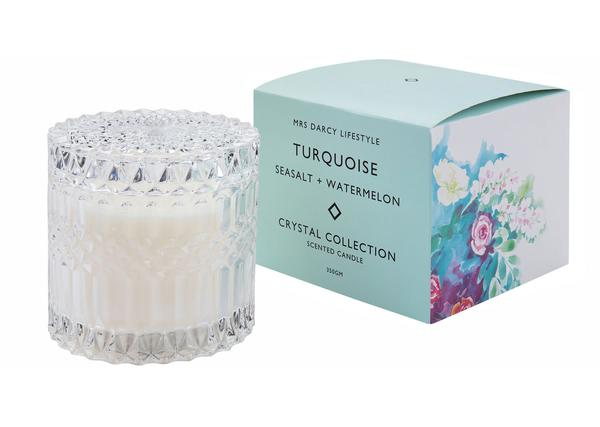 MRS DARCY CANDLE 350GM-SEASALT & WATERMELON