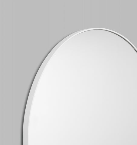 BJORN ARCH FLOOR MIRROR - WHITE