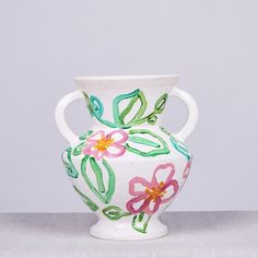 SMALL VASE - RESORT FLORAL