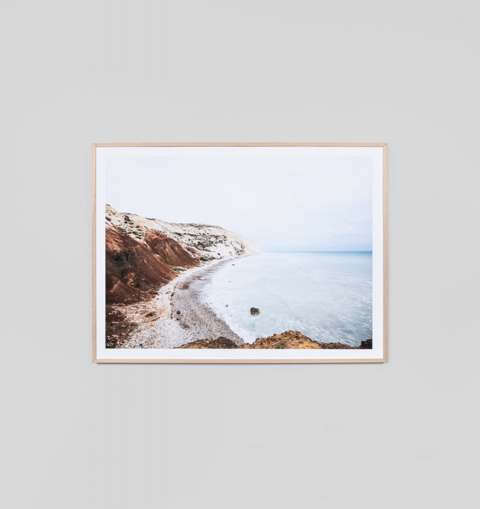 APHRODITES COVE FRAMED ARTWORK