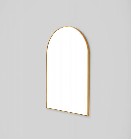 BJORN ARCH MIRROR MEDIUM - BRASS