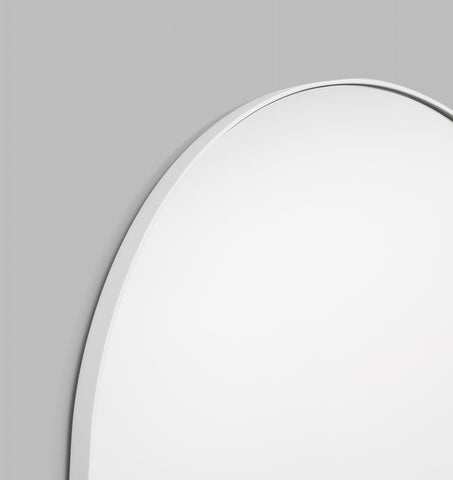 OVERSIZED BJORN ARCH FLOOR MIRROR - WHITE