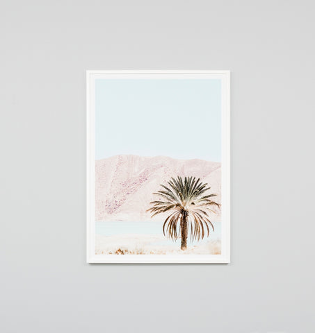 BLUSH SCENERY FRAMED ARTWORK