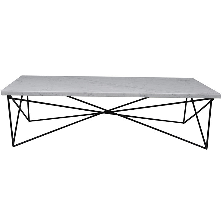 ELLE CRISS CROSS COFFEE TABLE