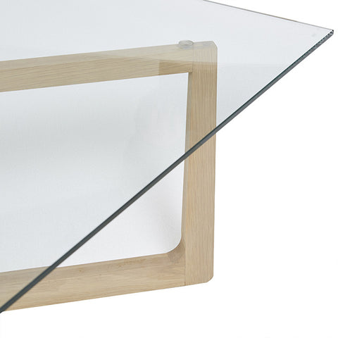 GEO GLASS COFFEE TABLE