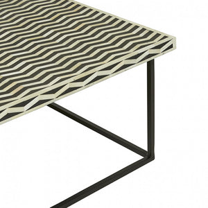 TAJ HERRINGBONE COFFEE TABLE