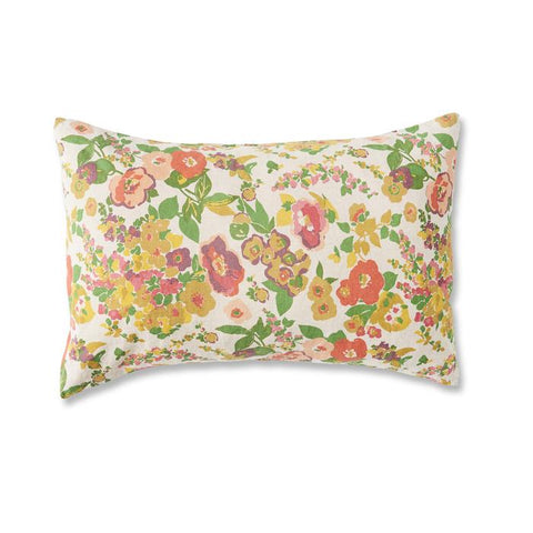 LINEN PILLOWCASE SET - MARIANNE FLORAL